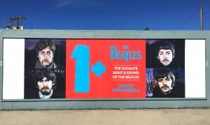 The Beatles Wild Posting Los Angeles