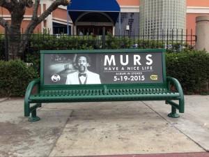Murs Bus Bench Los Angeles