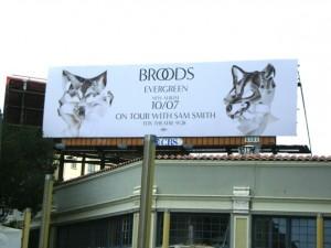 Broods Bulletin in Los Angeles