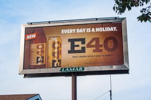 E-40 8 Sheet Adverting Billboard