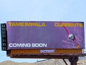 Tame Impala Bulletin Advertising