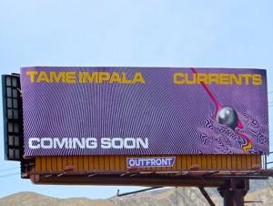 Tame Impala Bulletin Advertising