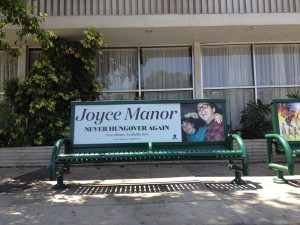 Joyce Manor Bus Bench Advertising