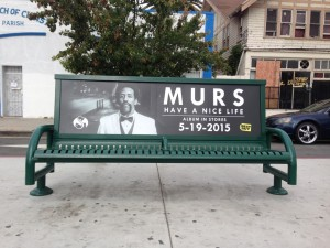 MURS Bus Bench Advertising