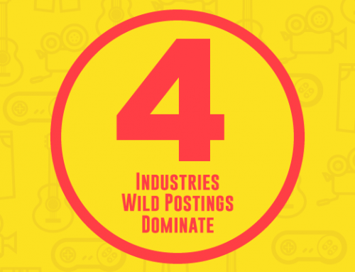 4 Industries Wild Postings Dominate