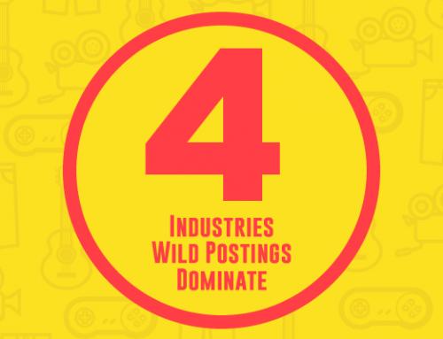 4 Industries Wild Postings Dominate