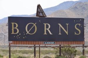 BORNS Billboard