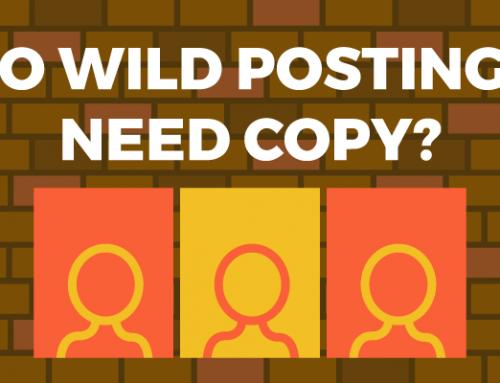 Do Wild Postings Need Copy?