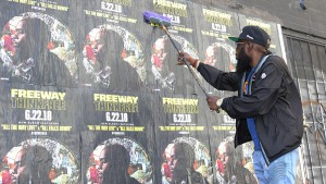 Freeway Rapper Wild Posting New York
