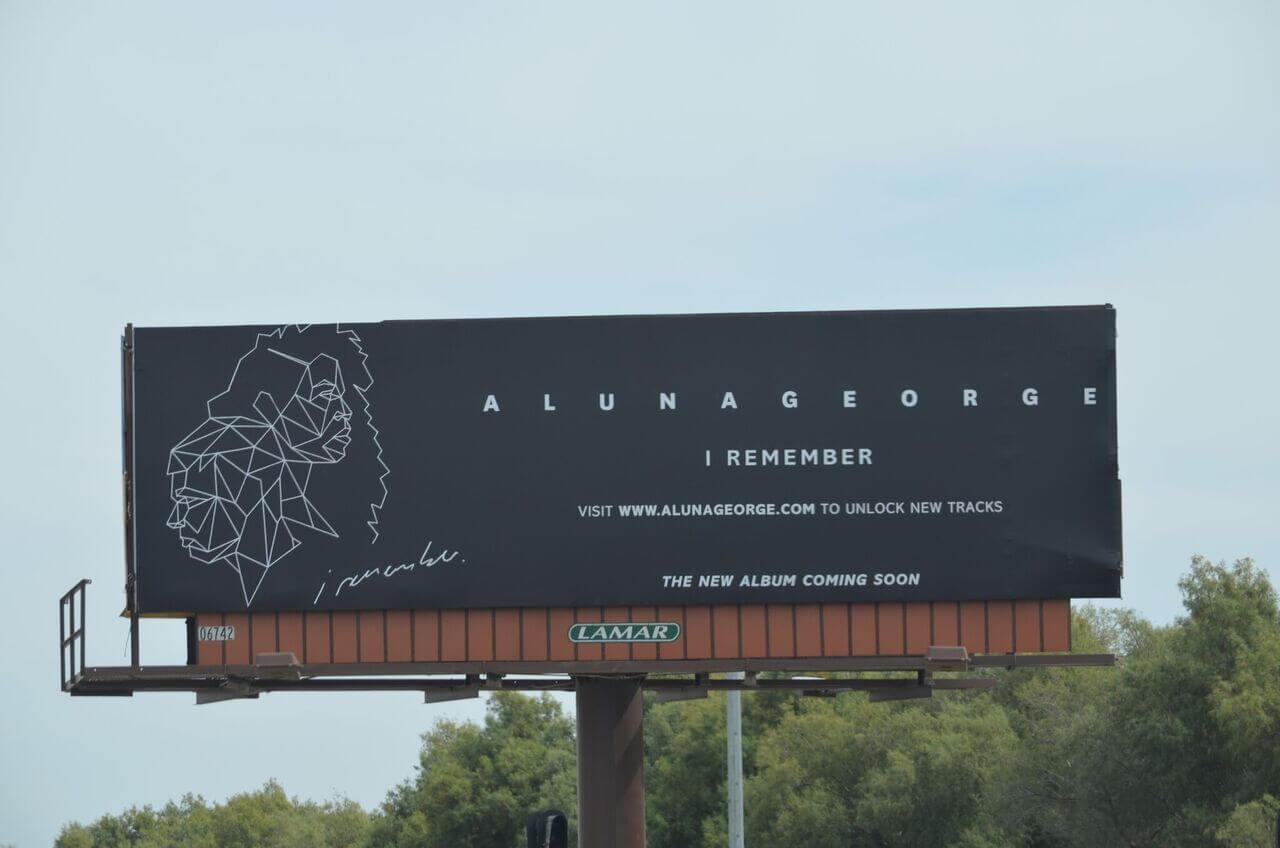 Aluna George Billboard