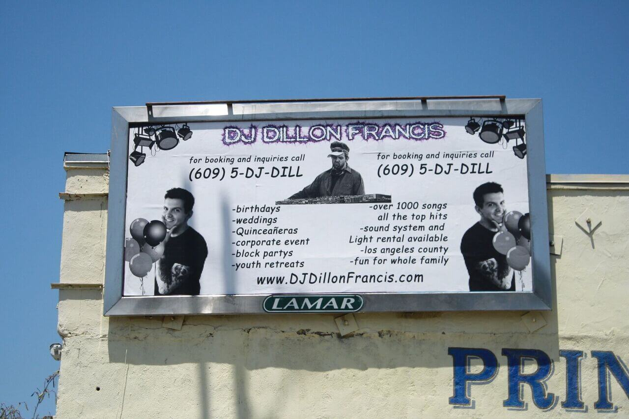 DJ Dillon Francis 8-Sheets