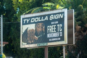 Ty Dolla $ign 8-Sheet Los Angeles