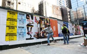 Wild Posting in New York City
