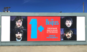 The Beatles Wild Posting Los Angeles