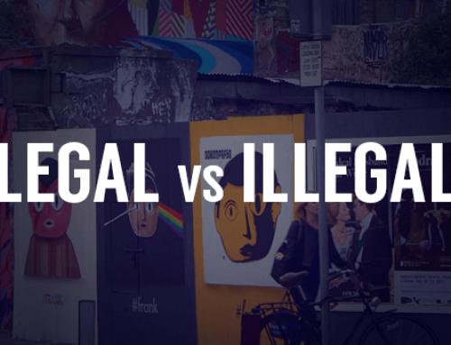 Wild Posting Legal vs Illegal Posting