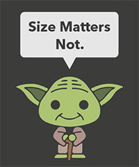 size-matters-not