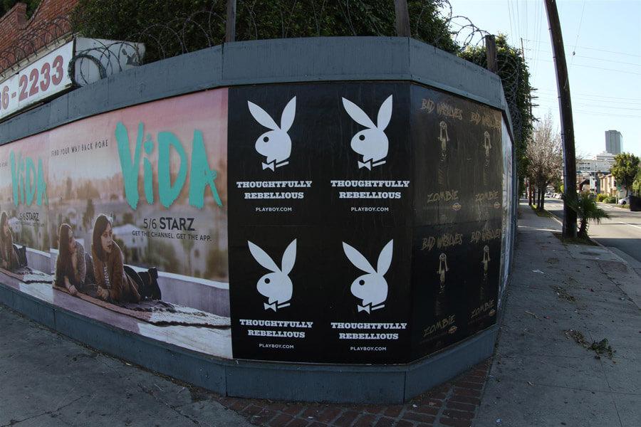 Playboy Wild Posting