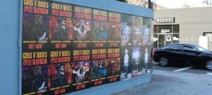 Guns N Roses Wild Posting