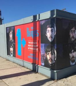 The Beatles Wild Posting